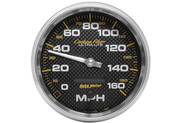 autometer carbon fiber 4889