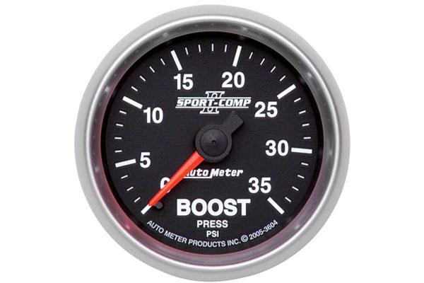 autometer sport comp II 3604