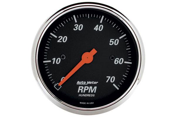 autometer street rod designer black 1478