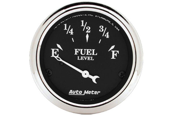 autometer street rod old tyme black gauges 1715 d
