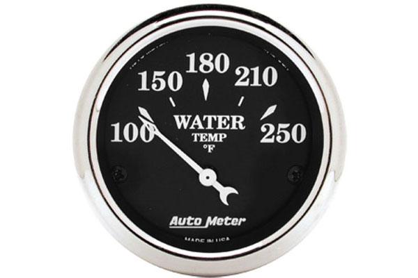 autometer street rod old tyme black gauges 1737 d