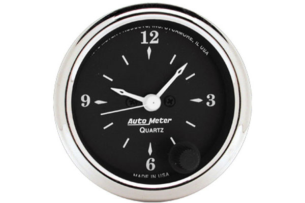 autometer street rod old tyme black gauges 1785 d