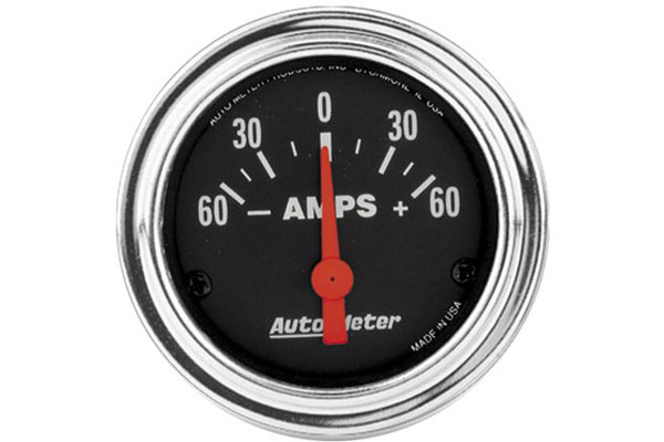 autometer traditional chrome 2586
