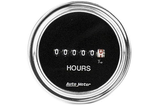 autometer traditional chrome 2587