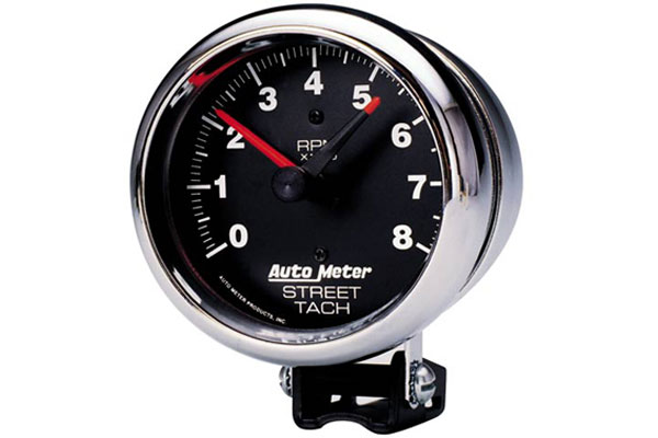autometer traditional chrome 2895