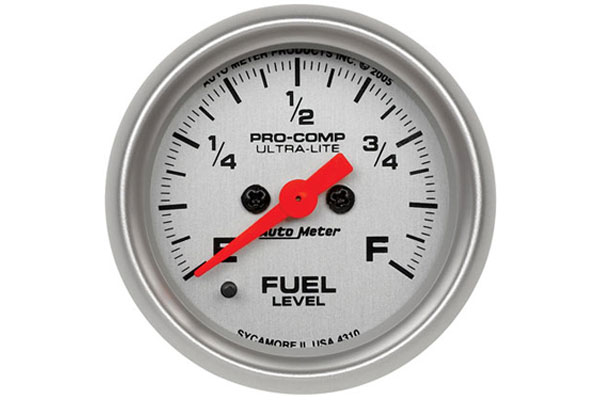 AutoMeter Ultra-Lite Gauges 4310 Fuel Level