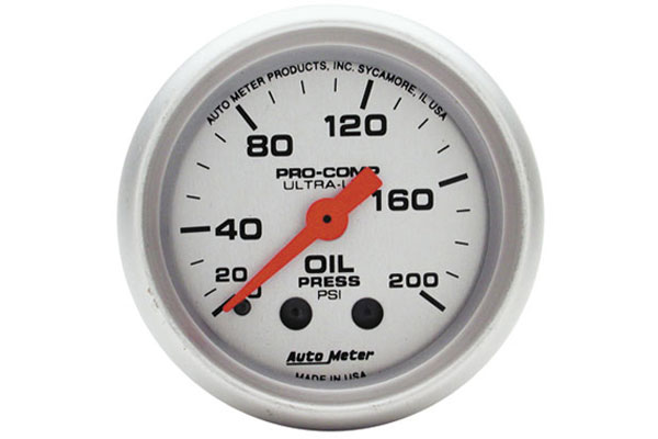 autometer ultra lite 4322
