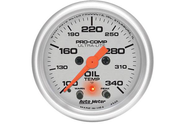 autometer ultra lite 4340