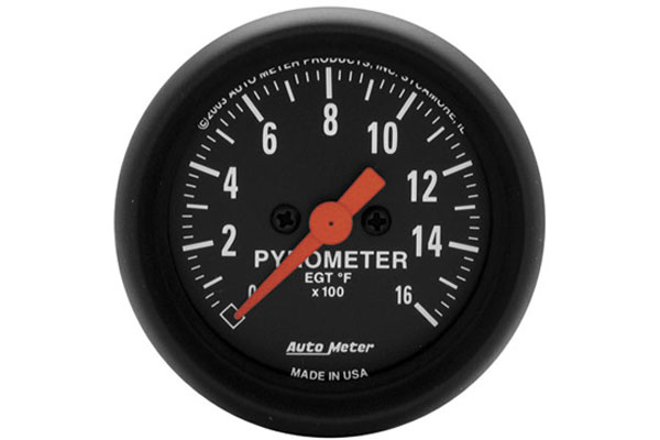 AutoMeter Z-Series Gauges - 2654 Pyrometer - Full Sweep/Electric