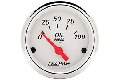 auto meter street rod arctic white 1327