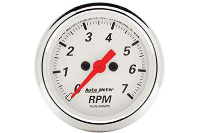 auto meter street rod arctic white 1397
