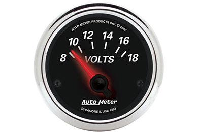 auto meter street rod designer black II 1293
