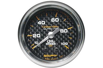 autometer carbon fiber 4721