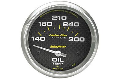 autometer carbon fiber 4848