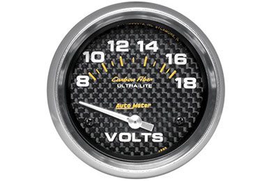 autometer carbon fiber 4891