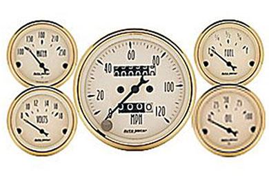 autometer street rod golden oldies 1501