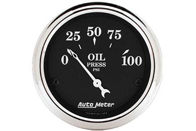 autometer street rod old tyme black gauges 1727 d