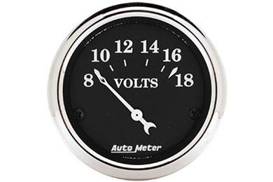 autometer street rod old tyme black gauges 1791 d