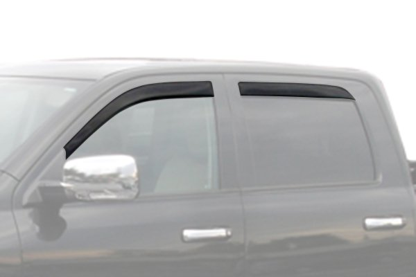 avs low profile ventvisor truck front rear