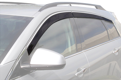 avs low profile ventvisor suv front rear 6piece wout chrome