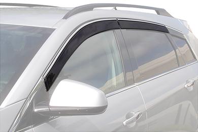 avs low profile ventvisor suv front rear w chrome