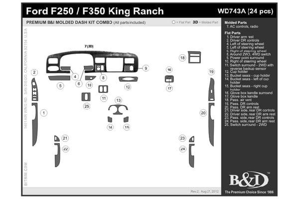 b i WD743A schem