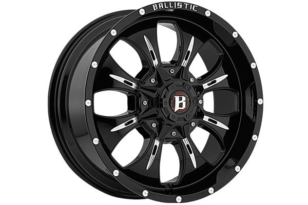 ballistic off road 951 dagger wheels sample