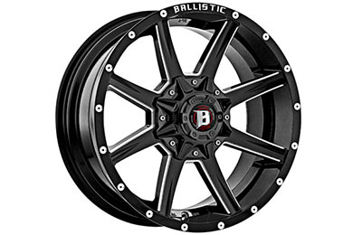 ballistic off road 956 razorback wheels sample