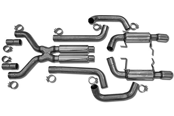1977 corvette dual exhaust systems