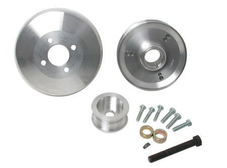 bbk underdrive pulleys 15550