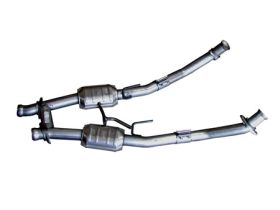 bbk exhaust crossover pipes 1521