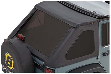 bestop jeep soft top tinted windows sample