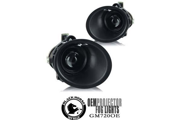 2015 Chevy Camaro Black Horse Off Road OEM Replica Fog Lights, Lights - OEM Replica Fog Light