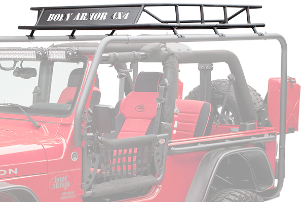 2017 Jeep Wrangler Body Armor Cargo Basket