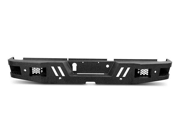 2014 Dodge Ram Body Armor Rear Bumpers in Black, Eco Series Rear Bumpers