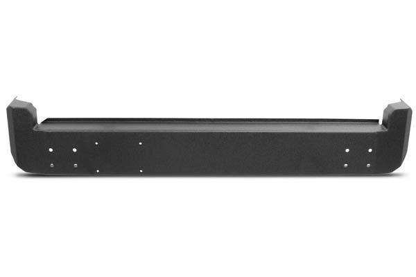 Body Armor Rear Bumpers in Black, Standard Rear Bumpers