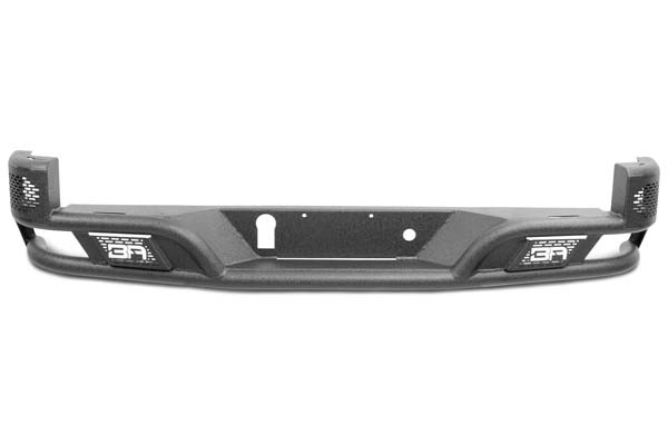 2016 Toyota Tacoma Body Armor Rear Bumpers in Black, Desert Series Rear Bumpers