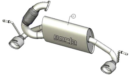borla 140299