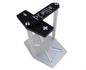 braille battery mounting hardware vertical