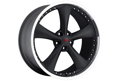 bravado americana II wheels matte black sample
