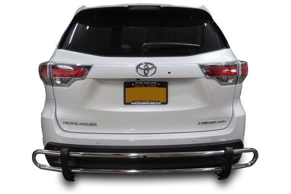 2014 2015 2016 toyota highlander rear bumper guards. Black Bedroom Furniture Sets. Home Design Ideas