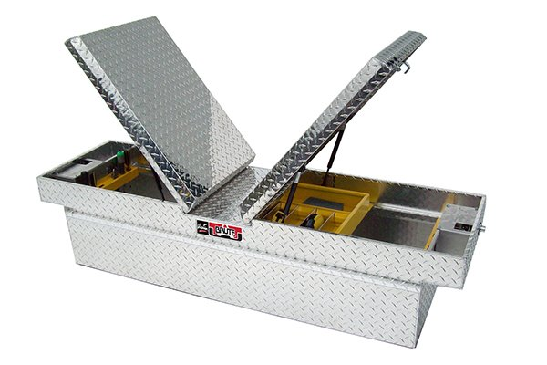 brute pro series gull wing crossover toolbox aluminum sample image