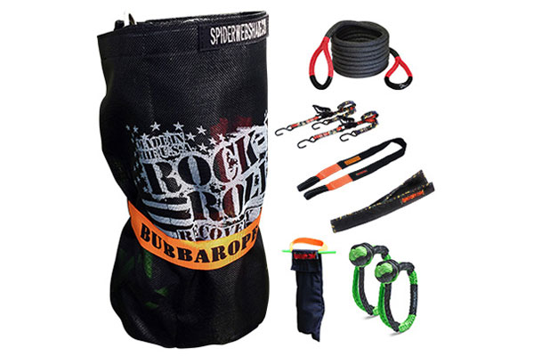 bubba rope rock n roll recovery kit sample