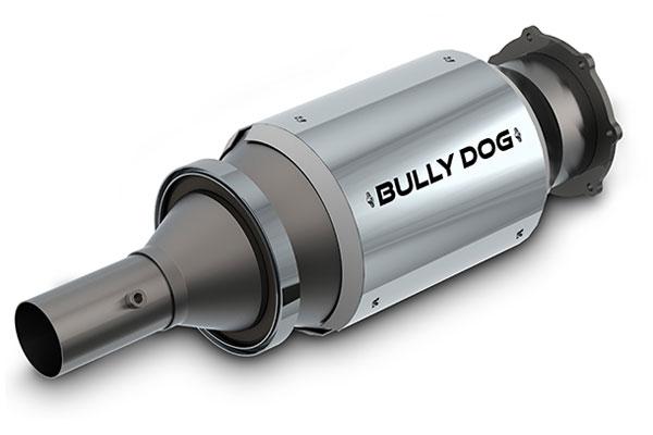 bully dog diesel particulate filter sample