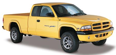 Bushwacker on Dodge Dakota Side Flares