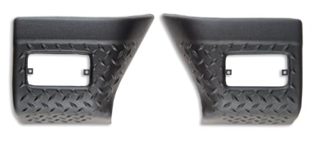 bushwacker trail armor front and rear corners front 14005