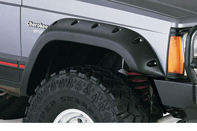 Jeep Cherokee Bushwacker Fender Flares - Cut-Out