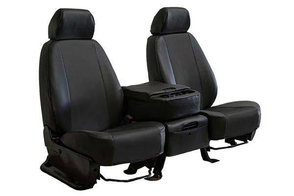 caltrend carbon fiber seat covers black sample