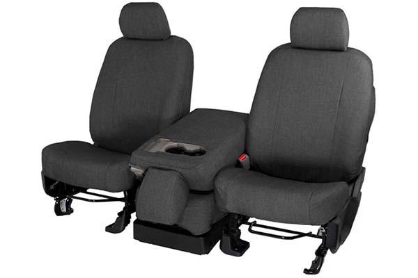 caltrend smart denim seat covers black sample
