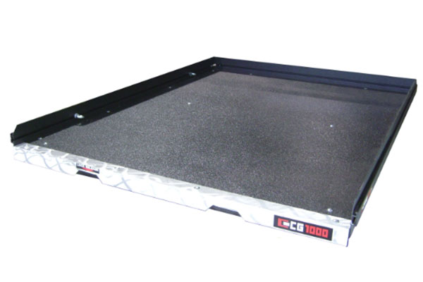 cargoglide sprayed bedliner deck surface